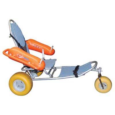 Amphibious Wheelchair