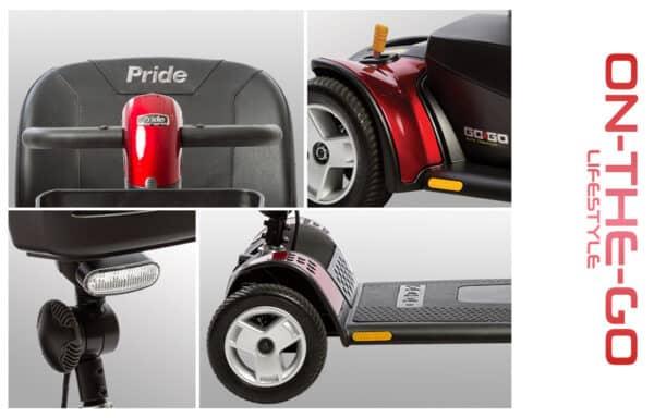 GoGo Elite Traveller Plus 4-Wheel